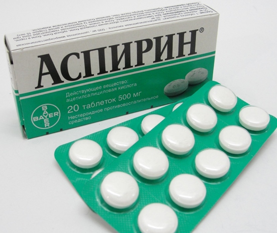средство от натоптышей с аспирином