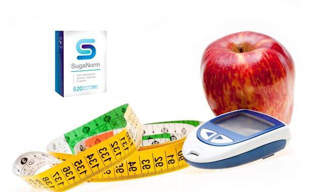 Капсулы SugaNorm от диабета