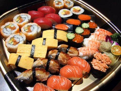 заказать суши на дом дешево